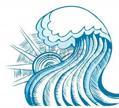 Waves wave clipart 10 clipart