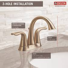 Delta Lahara Faucet Amazon by Delta Faucet 2538 Ssmpu Dst Lahara Brilliance Stainless Two Handle