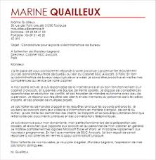 lettre de motivation cabinet de conseil exemple lettre de motivation administratrice de bureau livecareer