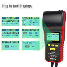 Ancel BST500 12V 24V Car Battery Tester With Thermal Printer Car ... Universal Foxwell Bt705 Bt 705 Battery Analyzer Test Bad Cell For Big Truck Suppliers And Manufacturers At Powersonic Pn120mf 12v 900cca Calcium Tractor 12v 24v Heavy Duty Automotive Car Load Tester With Buy Battery Block Terminal Get Free Shipping On Aliexpresscom Duty Truck Dry Batteries Din120 Jis Bolder China Platinum Xtreme 644x Partstech Deka Vehicle 734mf Deka 1231pmf Battery Calcium Sealed 1000cca Heavy Duty 4wd Truck 220ah Dry Charged N220 Boat 2x 629 Varta M7 44595 Pclick Uk