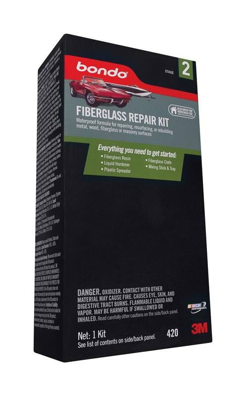 Bondo Fiberglass Repair Kit Stage