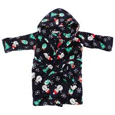 robe de chambre polaire enfant robe de chambre polaire de noël à capuche enfant 2 3 ans