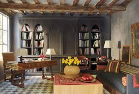Fresco Library Rustic Home Office And