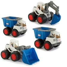 100 Toy Trucks For Kids Dirt Diggers Bundle BlueGray Little Tikes