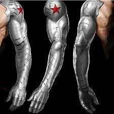 Winter Soldier Cyborg Arm Art By Ryan Meinerding Bucky Is Not Like Steve