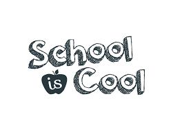 School Is Cool Word Art 1