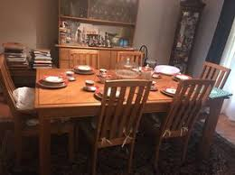 All Wood Dining Room Set With Curio Cabinet For Sale In Charlotte NC
