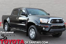 Pre-Owned 2013 Toyota Tacoma Base Double Cab Truck In Santa Fe ... Preowned 2013 Toyota Tacoma Base Double Cab Truck In Santa Fe Used Toyota Tacoma Trucks For Sale Nj New Models 1999 Xtracab Prerunner Auto Pickup Sale Truro Ns Used 2010 Sr5 4x4 Double Cab Georgetown 1994 Supra Wsport Roof For Amarillo Tx 44077 Trd Sport 37201 Autoblog 2008 Reviews And Rating Motor Trend Trucks Los Angeles Best Resource Lifted 2016 31980 12002toyotatacomafront Shop A Houston
