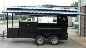 100 Food Trucks Atlanta Mini T Rex Pro W Roof Competition BBQ Smoker Grill Trailers Sale Catering
