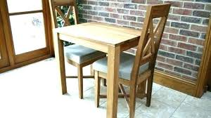 Small Dining Table And Two Chairs Room Tables For Kitchens Compact Set