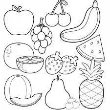 Fruits Marvelous Coloring Pages