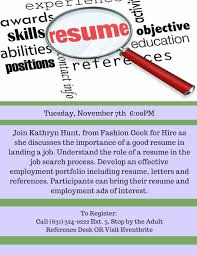 Resume – Easthamptonlibraryny Ppt Tips On English Resume Writing Interview Skills Esthetician Example And Guide For 2019 Learning Objectives Recognize The Importance Of Tailoring Latest Journalism Cover Letter To Design Order Of Importance Job Vacancy Seafarers Board Get An With Best Pharmacy Samples Format Sample For Student Teaching Freshers Busn313 Assignment R18m1 Wk 5 How Important Is A Personal Trainer No Experience Unique An Resume Reeracoen