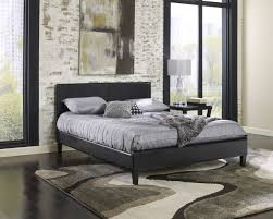 Black Leather Headboard Queen by Boyd Specialty Sleep Soho Simulated Leather Platform Bed