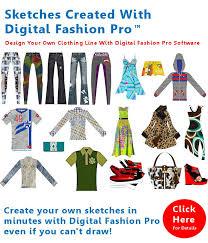 Digital Fashion Pro Clothing Design Software System