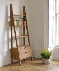 Full Image For Beer Can Display Shelves Natural Polished Teak Wood Rustic Wall Ladder Bookshelf Having