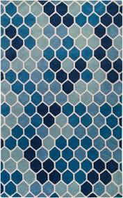 Modernrugs Blue Tile Mosaic Paule Marrot Modern Rug