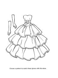 Pin Drawn Barbie Dress 1