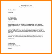 8 example of business letter for students