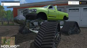 100 Monster Truck Simulator MONSTER TRUCK CAR V 12 Mod For Farming 2015 15 FS LS