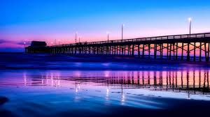 Pier At Ocean Beach In San Diego California Sunset Stock Image Download Things To