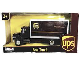 Amazon.com: Daron/REALTOY UPS Package Delivery Box Truck 1/50 Scale ...