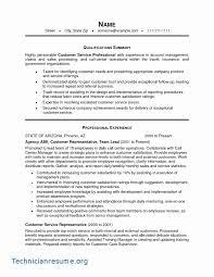 Images For Professional Biotechnology Cv Example Myperfectresume 50 Fresh Resume Executive Summary