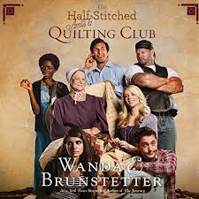 The Half Stitched Amish Quilting Club Cover Art
