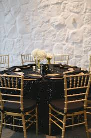 Black-Sequined Dining Table With Gold Chiavari Chairs   From Miss To ... Vig Fniture Modrest Kingsley Modern Black Rose Gold Ding Chair Of America Duarte Iii Crocodile Textured Zuo Elio Set 2 Antique Sets Glass Tops Bases Chairs Frame Pedestal Vintage European And Round Table Beautiful Leopard Print 6 Room Wooden Best Of 25 With Legs Ideas Design 100 Transformed Reality Daydream Meridian Karina The Classy Home Inspirational 50 And Dcor Inspiration For New Years Eve Nage Designs Patings On Blue Wall Gold Clock In Modern Ding Room