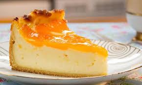 mandarinen schmand kuchen klassisch mit mürbteigboden und
