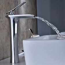 aimadi waschtischarmatur wasserfall wasserhahn bad