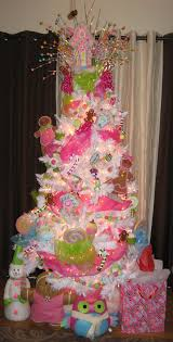 Pink Flocking Spray For Christmas Trees by Inspiring Christmas Trees Flocked Christmas Trees Christmas