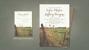 Farm Style Wedding Invitations With Remarkable Free