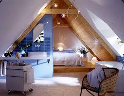 dachbodenausbau mit schlafzimmer und bad offenes