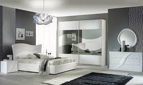 schlafzimmer 6 teilig in weiß modern design