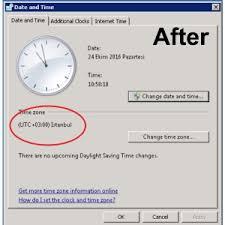 About Daylight Saving Time Changes Ko§ üniversitesi Information