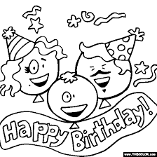 Happy Birthday Online Greeting Card Page
