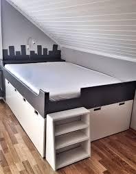 Excellent Ikea Platform Beds With Drawers Bedroom Home Design