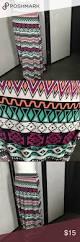 fun tribal print maxi skirt size 14 16 fun tribal print maxi skirt