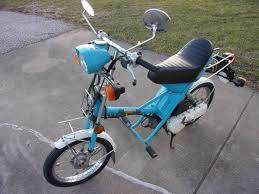 Description 1980 Honda Express 2 Moped Has 1226 Miles New Crank Shaft Seals Carb Rebuilt Gas Tank Clean Head Light Signals Work Horn Works