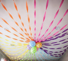 Simply Hang Streamers To Create A Backdrop And Focal Point For Your Dessert Or Drinks Table