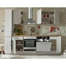 respekta premium küchenzeile berp250lhwc breite 250 cm