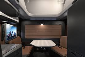 New Cascadia 72 Raised Roof Sleeper Cab Featuring Elite Lounge ...