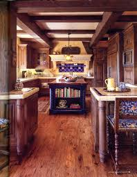 Mexican Decor Style Kitchen Blue Island