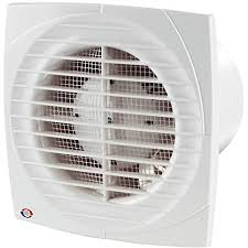 vents dl timer hygro ventilator lüfter badlüfter nachlauf feuchtigkeitssensor ø100 mm