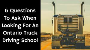100 Truck License An Ontario Driving School 1800 2650400 AZ YouTube