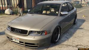 Audi A4 B5 S4 Stance 2001 v1 0 for GTA 5  Download game mods