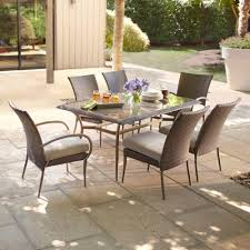 7 Piece Patio Dining Set Walmart by Hanover Lavallette 7 Piece Outdoor Dining Set U2013 Walmart Within 7