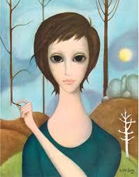 100 Denise Rosselli Figuration Feminine Margaret Keane 1927