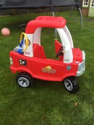 100 Fire Truck Cozy Coupe Little Tykes Engine With Water Sprayer In Portlethen