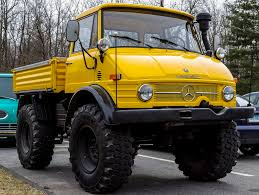 100 Unimog Truck Yellow Monster EMercedesBenz
